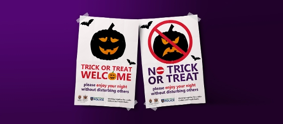 An image relating to Stay safe this Halloween