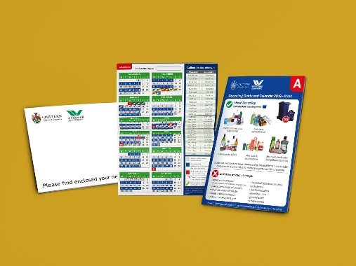 New waste calendars are being delivered